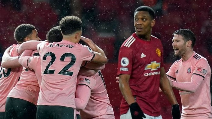 Sheffield United stun Manchester United with their first win at Old Trafford since 1973