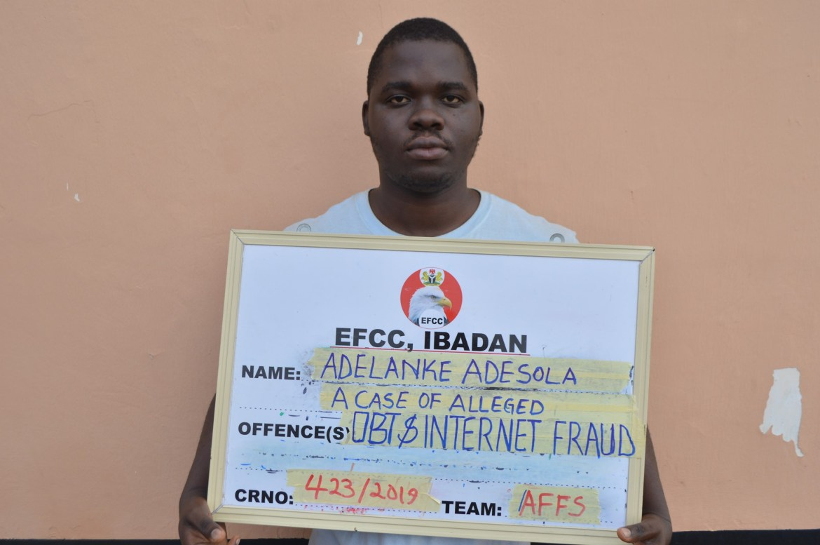 Sales Rep jailed for 18-months for Internet Fraud in Ekiti