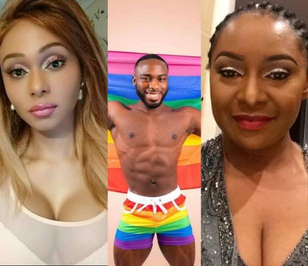 Transgender Nigerian, Miss Sahhara slams Victoria Inyama for saying Bolu Okupe shouldn