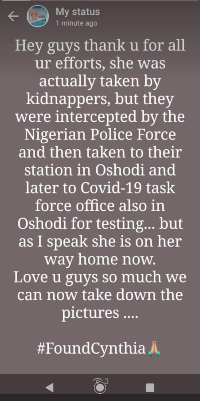 Police rescue woman kidnapped in Lagos