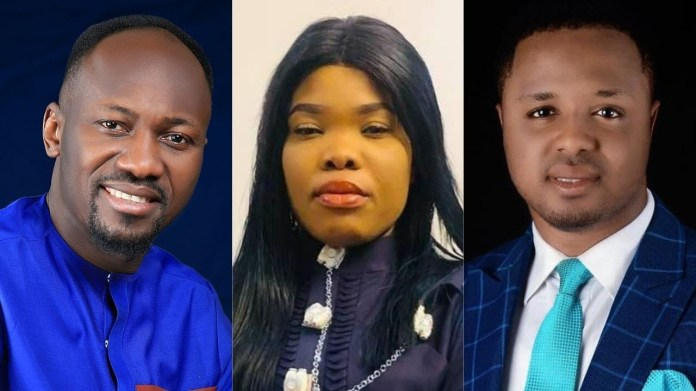 Apostle Johnson Suleman apologizes over viral audio clip in which he was heard threatening someone (video)