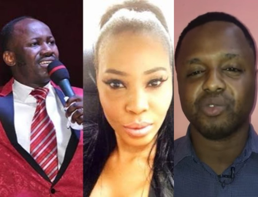 I?ll expose how we got Stephanie Otobo to apologise over sex scandal ? Pastor Mike Davids threatens Apostle Suleman (video)