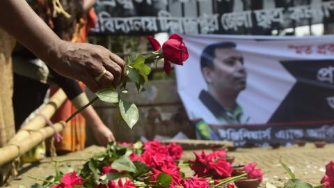 Five sentenced to death for hacking blogger Avijit Roy to death over his anti-religious posts