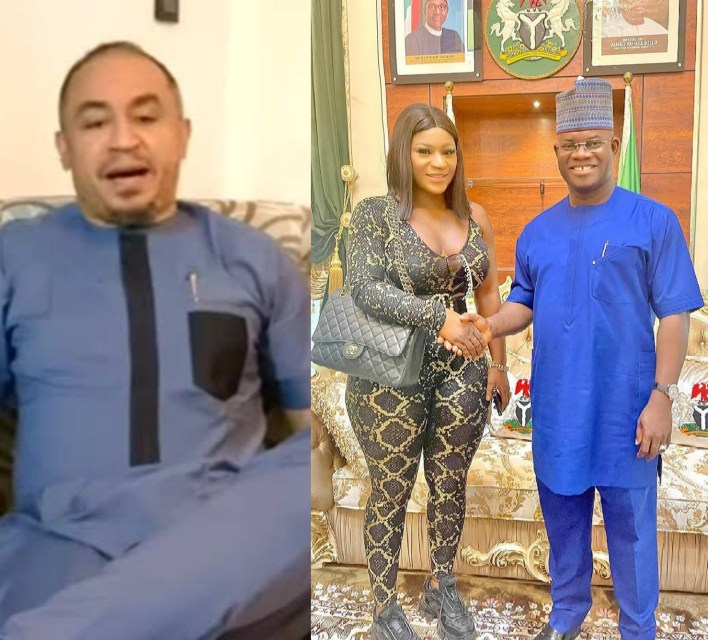 Daddy Freeze condemns those criticizing Destiny Etiko for her choice of outfit for visit to Kogi Governor, Yahaya Bello