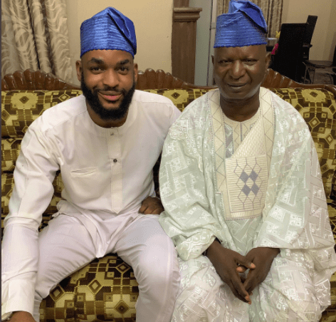 Nigerian man reacts after Twitter users asked him to do a DNA test after he shared a photo of himself and his father