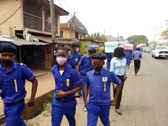 Students of Rochas Okorocha
