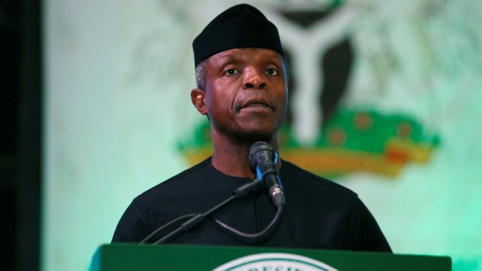 603901ab852ef Address the concerns without killing the goose that might lay the golden egg - VP Osinbajo speaks against ban on Cryptocurrency