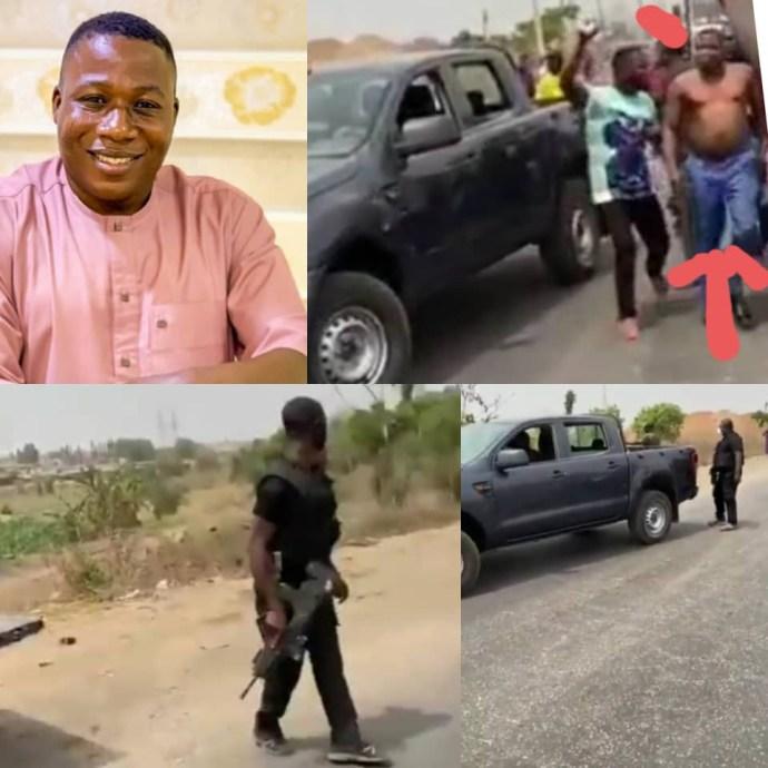 6039345368618 DSS denies attempting to arrest Sunday Igboho