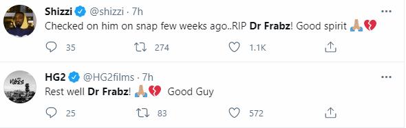 Music producer, Dr Frabz is dead