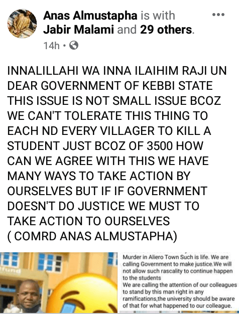 Final year Kebbi varsity student allegedly beaten to death by mob over N3500 a week to graduation