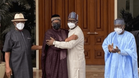Governor Ortom and Bala Mohammed make peace after media fight over AK47 for herders