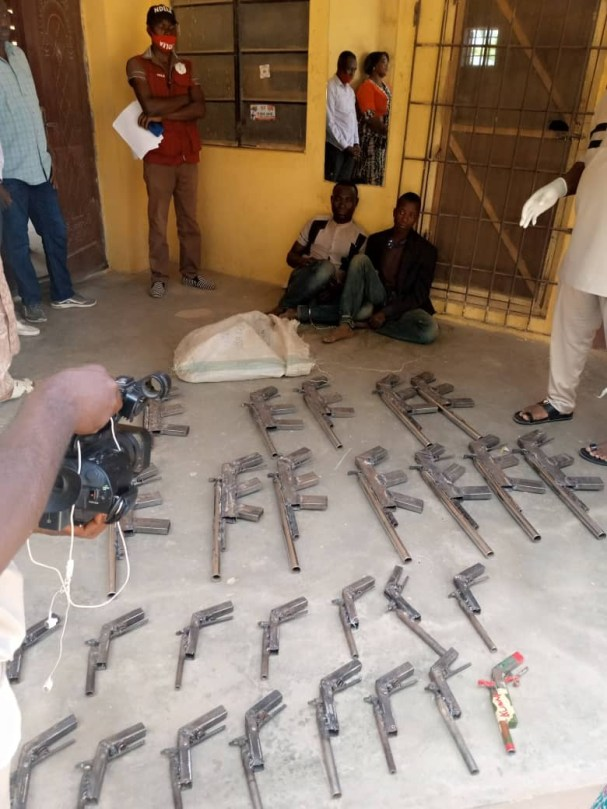 NDLEA recovers 27 rifles from two criminals in Niger state (photos)