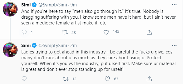 Simi speaks about the challenges of being a woman in the Nigerian music industry