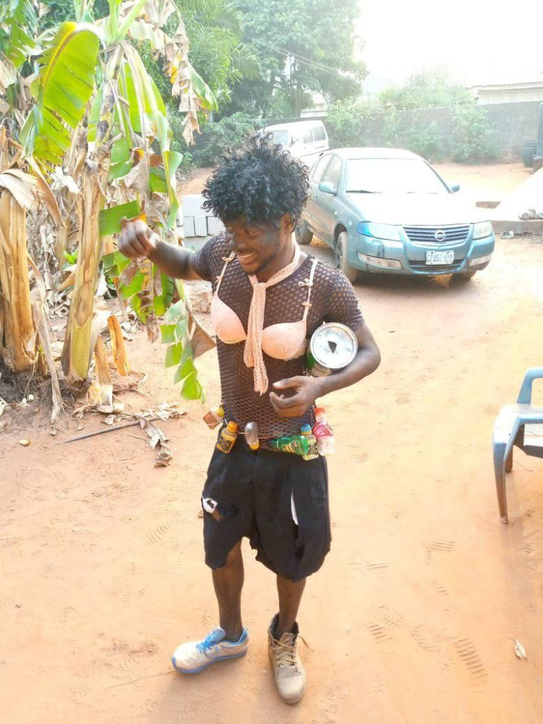 Lol... Oko Poly students sure took the Rag Day