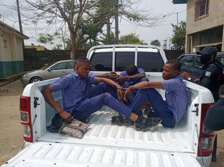 Four secondary school students handed over to police in Calabar over alleged involvement in cultism