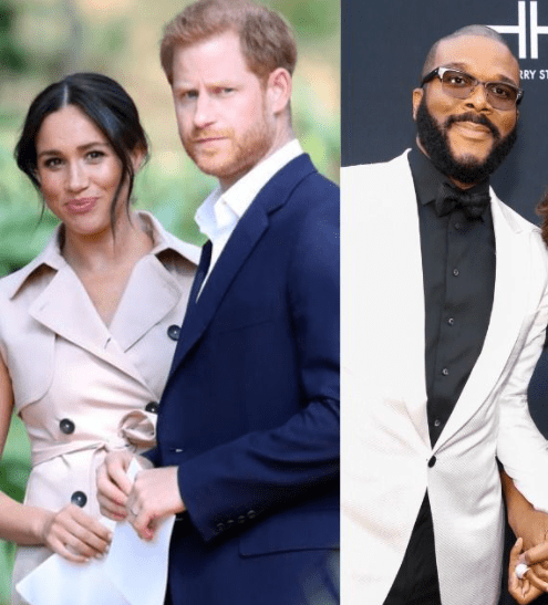 How Tyler Perry came to Meghan Markle and Prince Harry