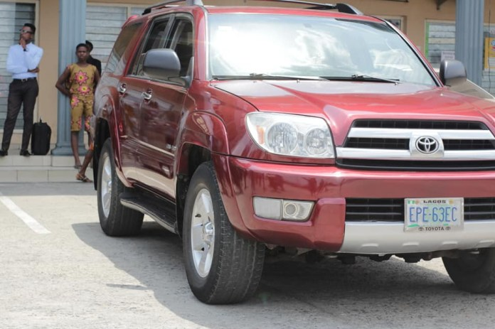 Newly wed young man surprises his pastor with a brand new SUV in Port Harcourt