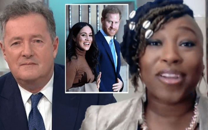 Piers Morgan warned by Nigerians on Twitter following his TV clash with Dr. Shola Mos-Shogbamimu