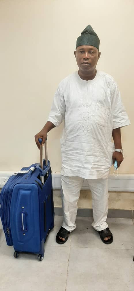 NDLEA arrests suspected notorious drug trafficker with 3 parcels of cocaine at Lagos airport (photos/video)