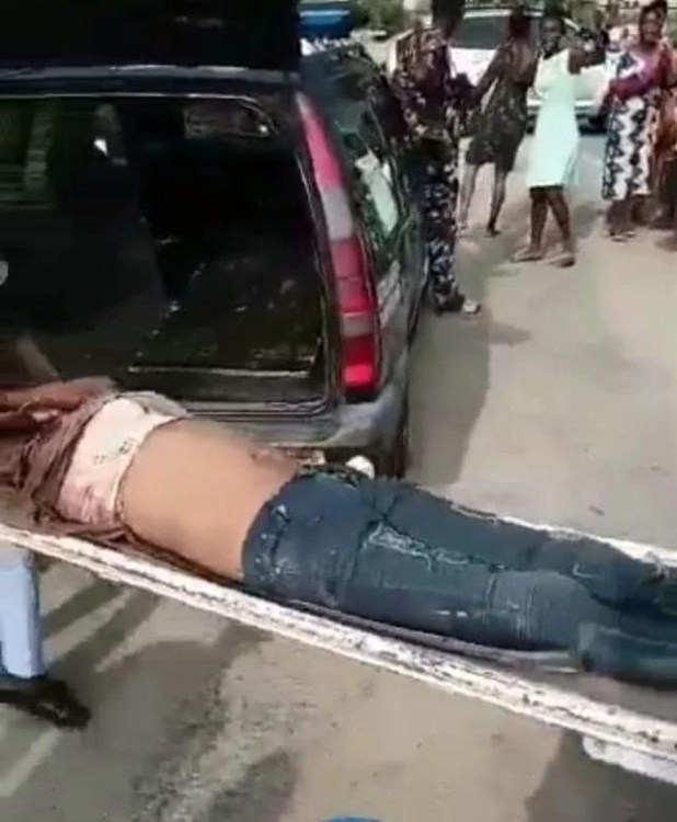 Headless body of a woman with her blood drained found in uncompleted building in Delta community (photos)