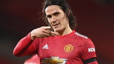 Edinson Cavani to leave Manchester United for boyhood club Boca Juniors five months after arriving at Old Trafford