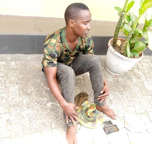 Fake soldier arrested in Cross River state