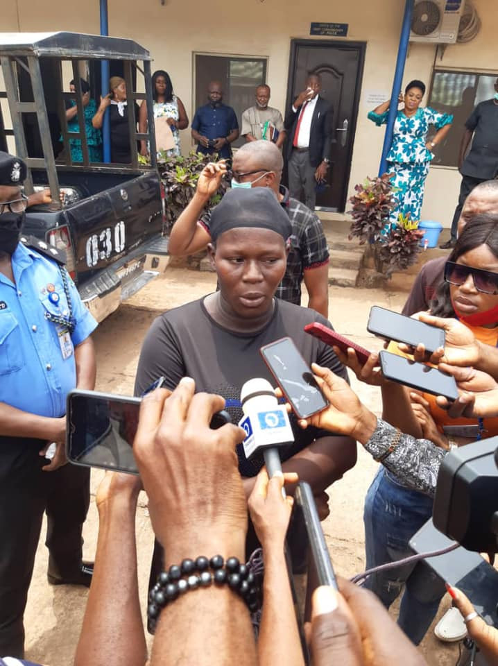 Anambra police denies trying to cover up a murder case, says woman arrested for allegedly beating her househelp to death is still in custody