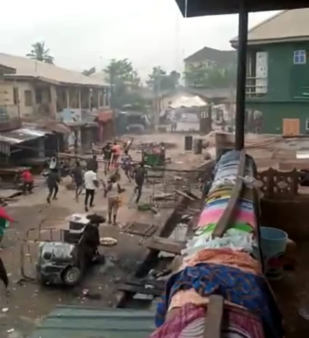 Cult members clash in Lagos (video)