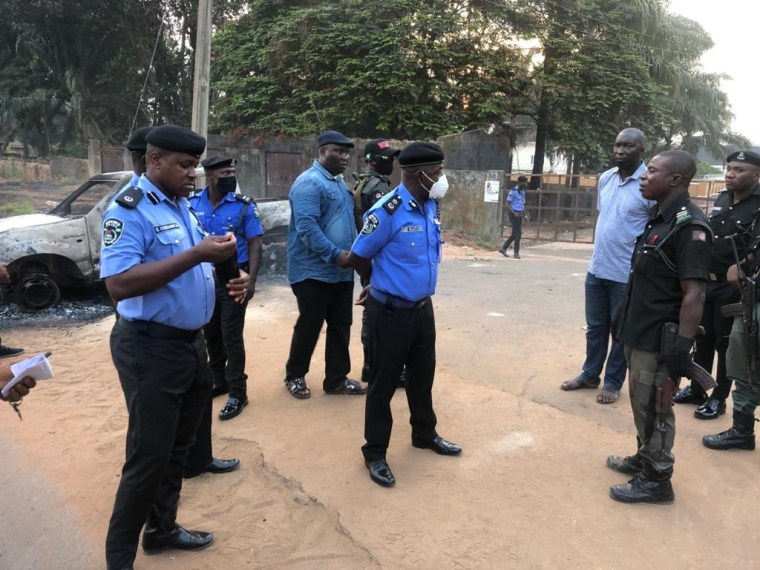 Police officer killed after gunmen attacked a police patrol team in Anambra