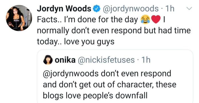 Jordyn Woods and her man Karl-Anthony Towns respond to allegations he