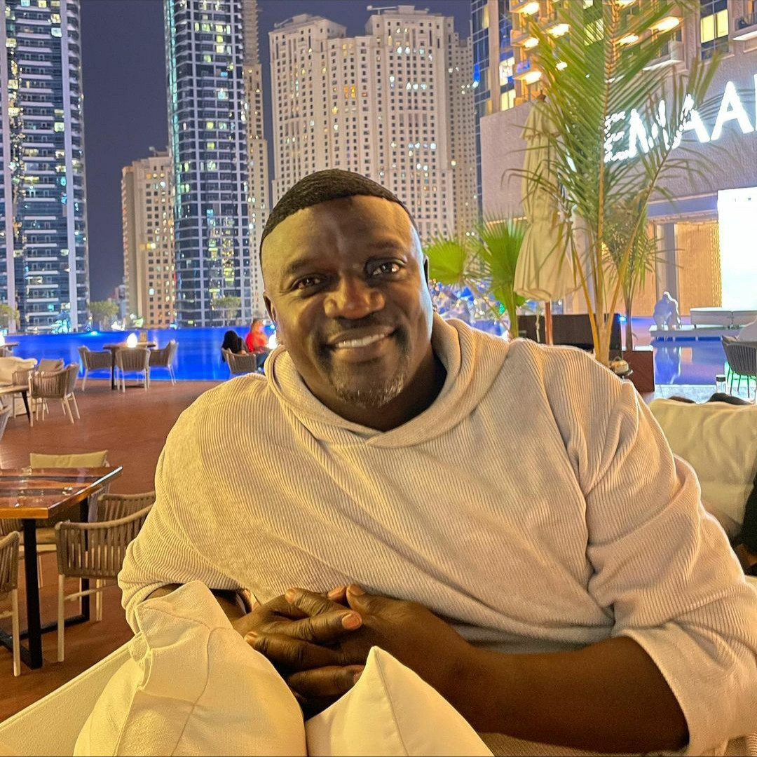See what singer, Akon looks like now (photos)