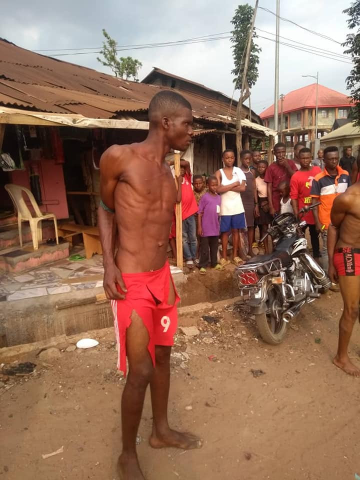 Suspected criminals who specialize in stealing building materials nabbed in Abia