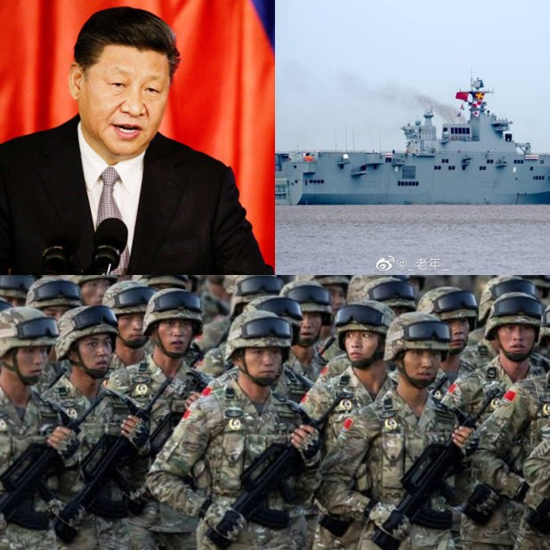 China plans to overwhelm and takeover Taiwan with it