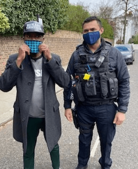 Reno Omokori reveals what he told UK police when they were called in by President Buhari