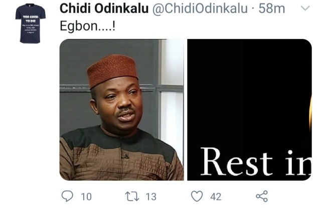 Afenifere spokesman, Yinka Odumakin, dies from Covid-19 related complications