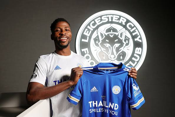 Kelechi Iheanacho signs new four year contract at Leicester City  worth ?100,000 (N52.6m) per week (photos)