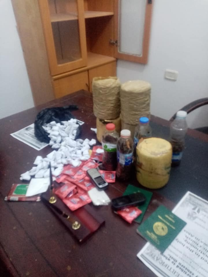 Two Nigerian nationals arrested in Libya for drug and sex trafficking
