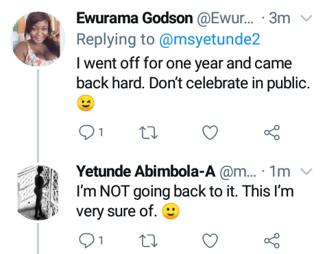 """One of my small wins"" - Nigerian lady says as she marks 7 months since she stopped masturbating"