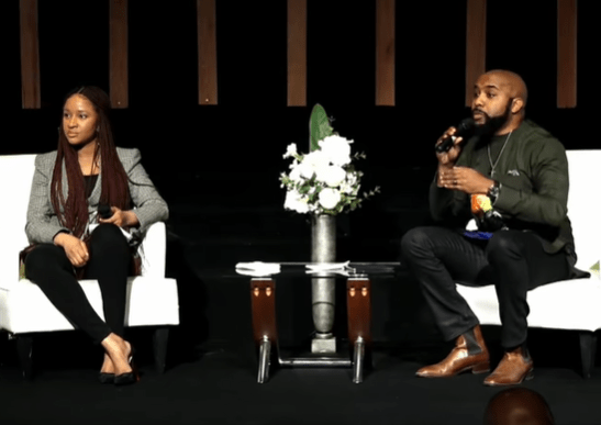 Banky W and Adesua testify of how they struggled with having a child, lost a set of twins, went through IVF procedures and miraculously had their baby boy (video)