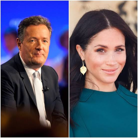 Piers Morgan asks Meghan Markle to name