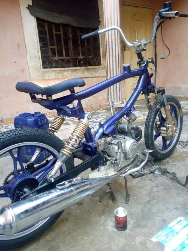 Nigerian man with no formal education commands attention after building motorcycles from scratch in Katsina