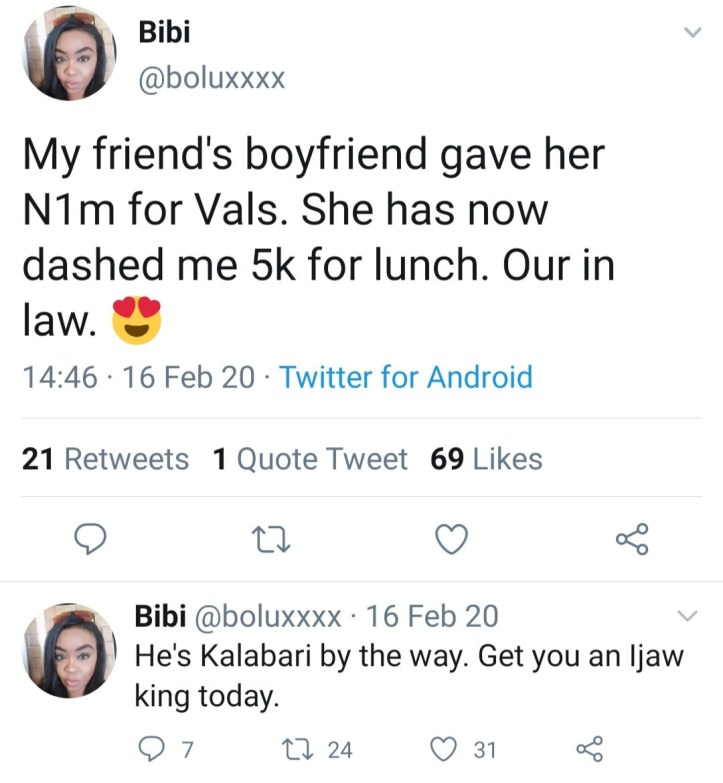 """""""Hug your broke boyfriend today"""" Woman gives update one year after she gushed about her friend"""