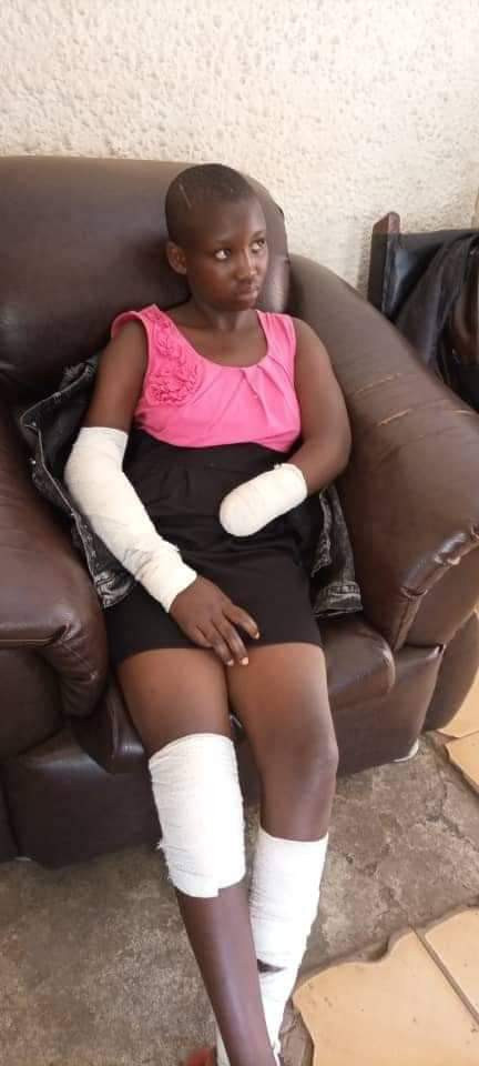 """He ordered me to undress and I refused"" - 16-year-old student narrates how a man cut off her hand with machete for resisting rape attempt"