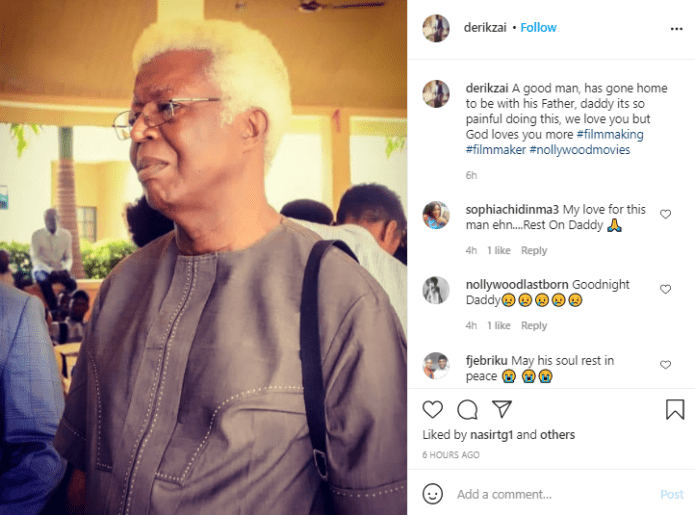 Veteran actor, Bruno Iwuoha dies at 68