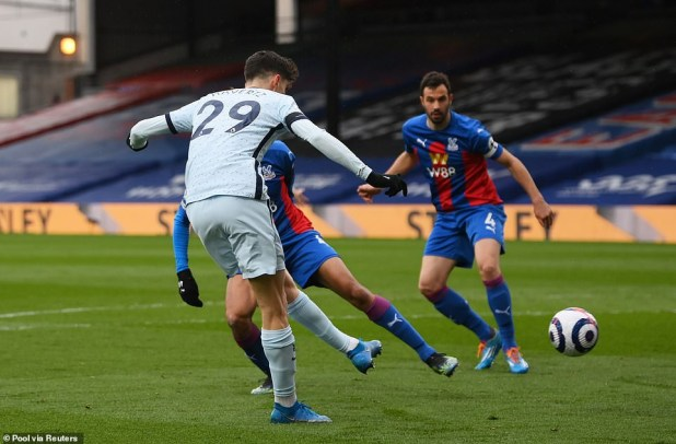 Crystal Palace 1-4 Chelsea : Blues move back to fourth with commanding win