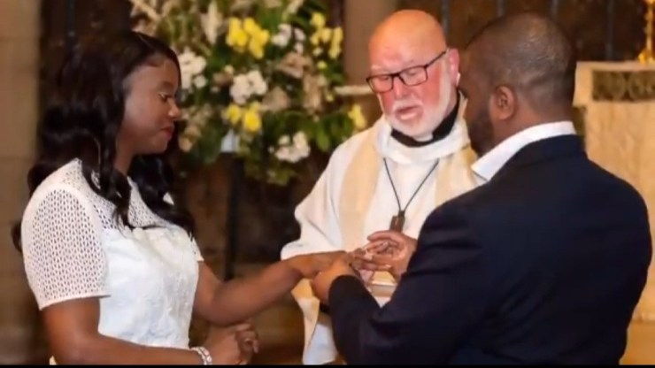 Nigerian couple remarry after 10 years of separation and divorce