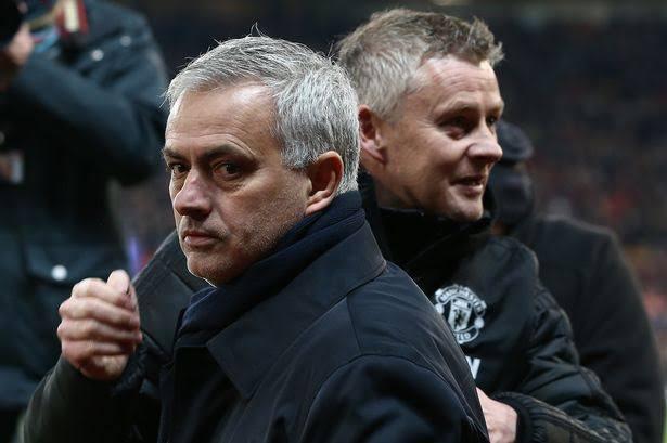 Jose Mourinho slams Ole Gunnar Solksjaer after the coach suggested Mourinho