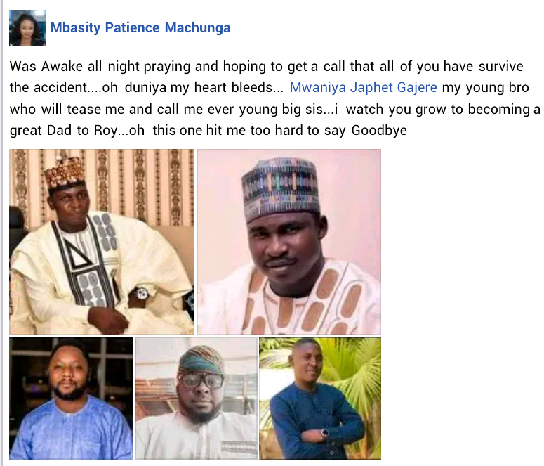 Update: Photos from the burial of five Adamawa friends burnt to death in ghastly motor accident