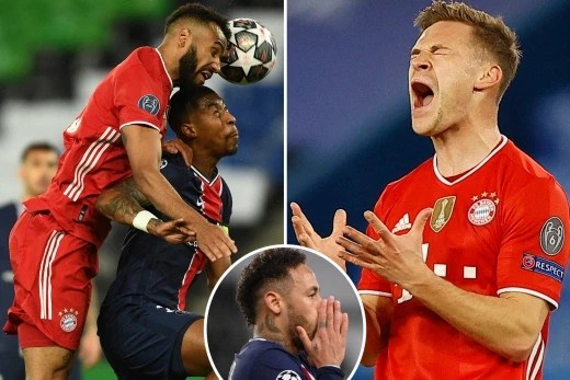 PSG 0 : 1 Bayern Munich (Agg 3-3): PSG To Proceed To Semi-Finals After Qualifying With Away Goal