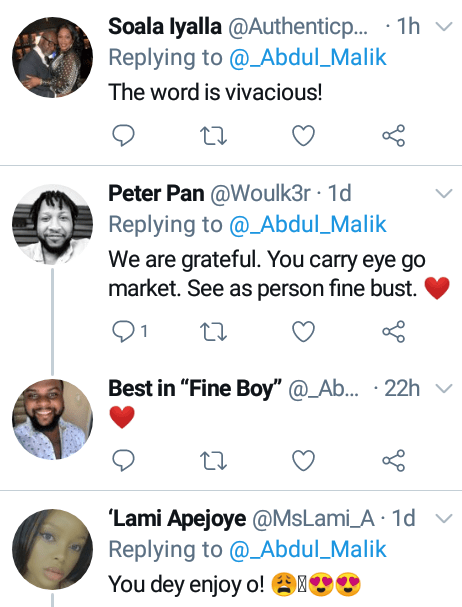 """""""You carry eye go market"""" - Nigerian Muslim man warms hearts as he extols his wife"""